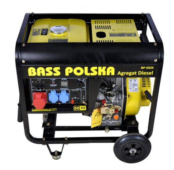 Ogromnie Agregat prądotwórczy Diesel - Bass Polska HM38