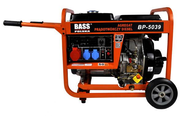 W superbly Agregat prądotwórczy diesel 6,5kW - w sklepie Bass Polska CL43